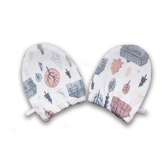 Organic baby mittens/ scratch mitts