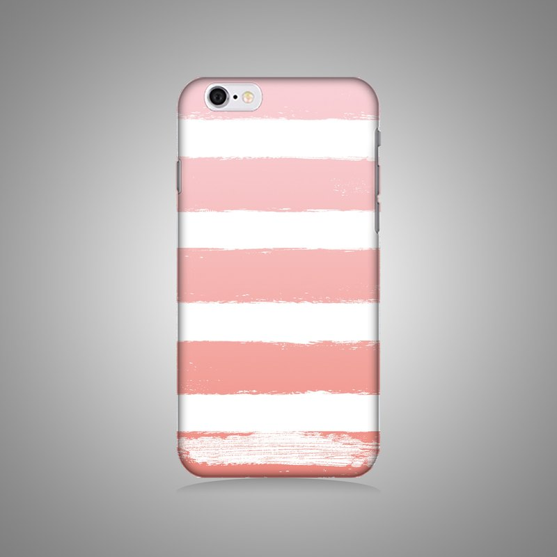 Empty shell series - Pink horizontal original mobile phone case / protective cover (hard shell)