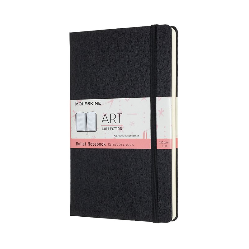 MOLESKINE Art Series Bullet Notebook-Hot Stamping Service