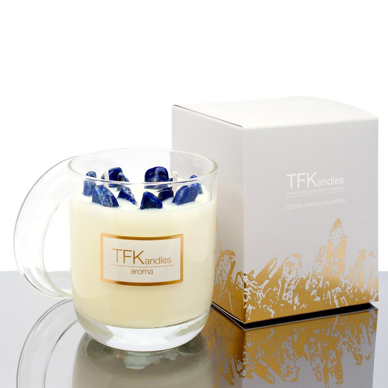 """Summer Hills"" naturally scented candle L"