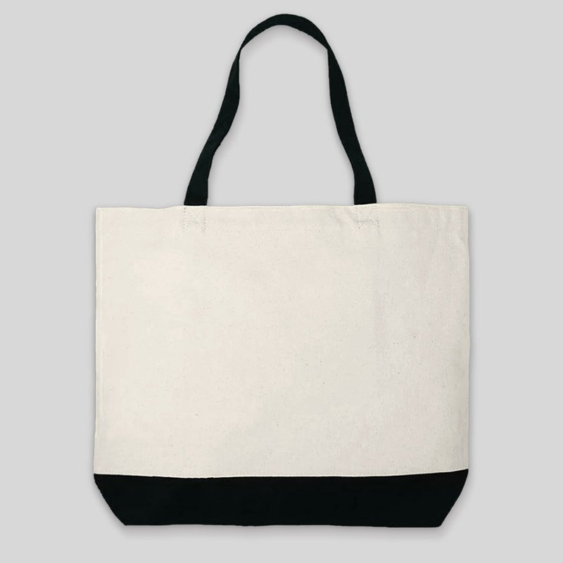 Canvas bag printing fee-additional printing service (drawing fee extra) / shoulder zipper
