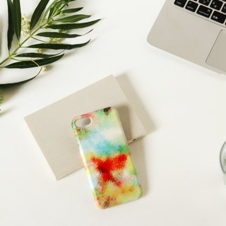 [Order Production] iPhone / Android Case | Blue fog and orange sky smart case