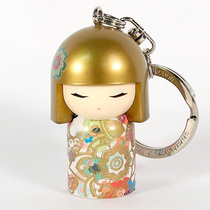 Key ring - Akira shining bright [Kimmidoll and blessing doll key ring]