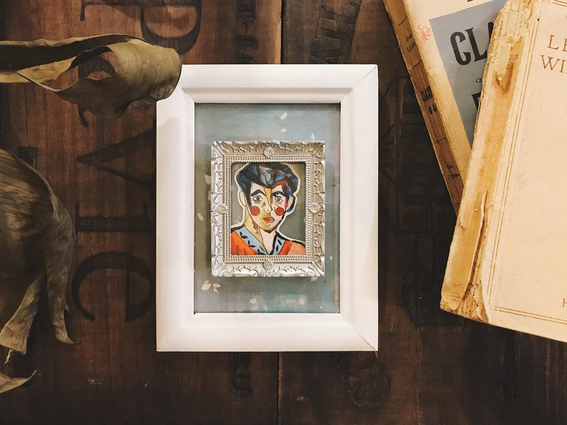 Box Frame Home Decor Series | Henri Matisse's Wife