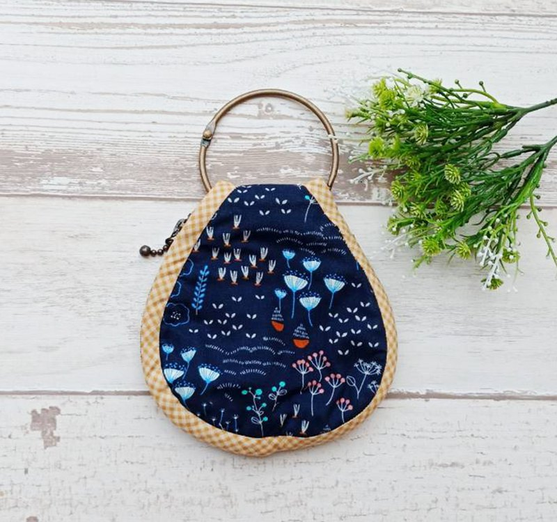 [QQ key ring coin purse] algae plant
