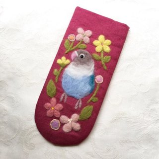glasses case of lovebird