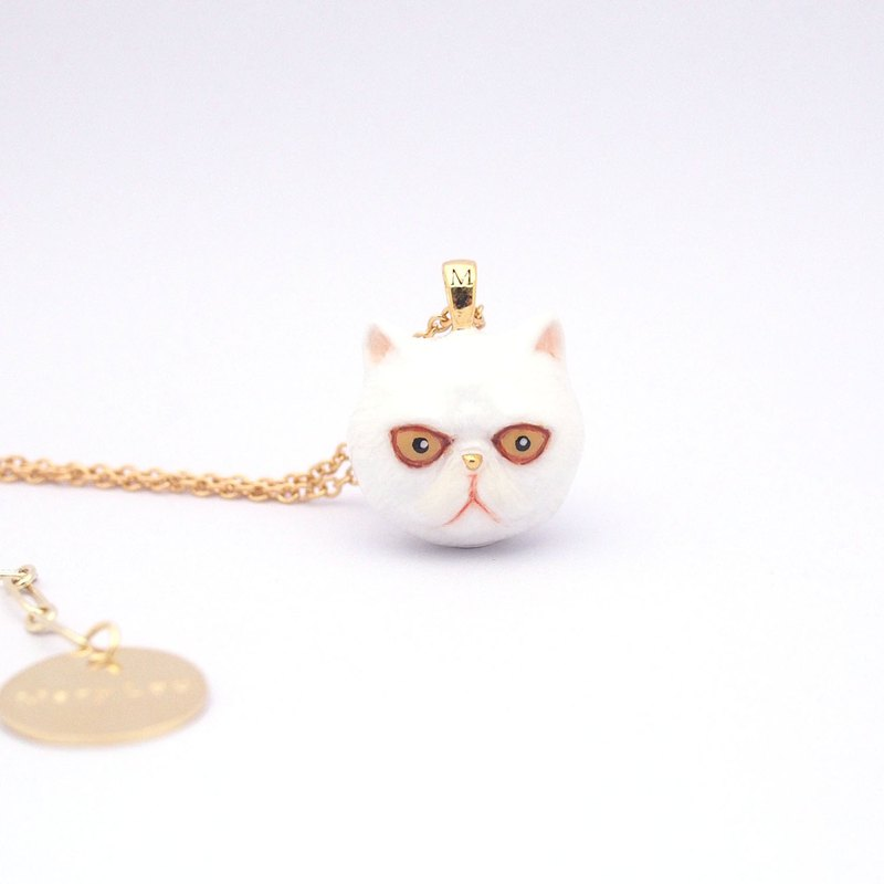 Exotic Shorthair Head Necklace