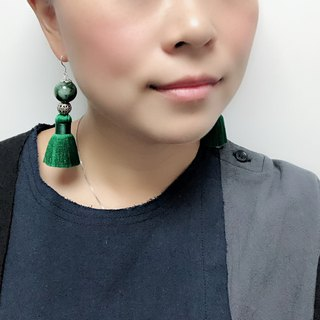 玉石流蘇 耳環 Gearda Earrings