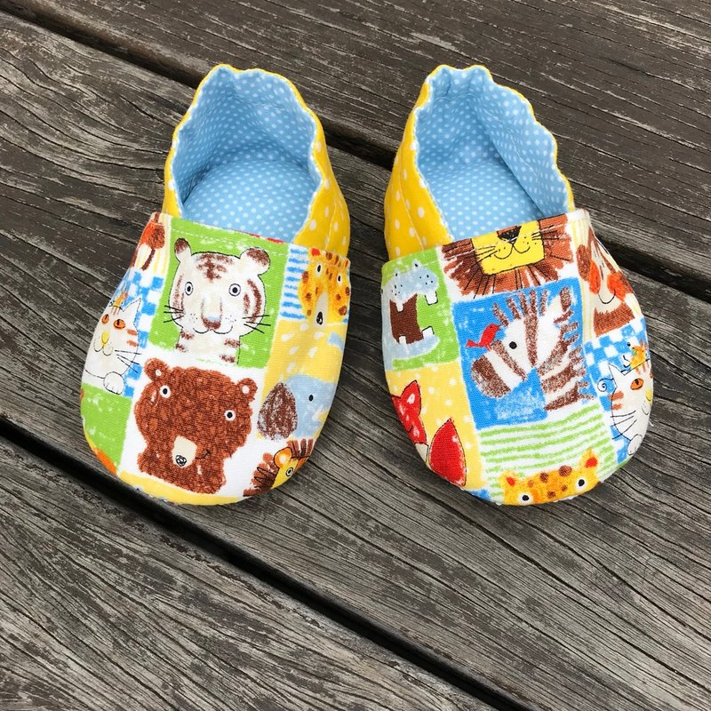 Colorful Animals <Artificial Shoes. Baby Shoes> Toddler Shoes