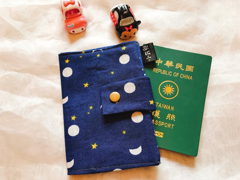 Passport Cover/Passport Clip/Passport Package-Tibetan Venus Moon