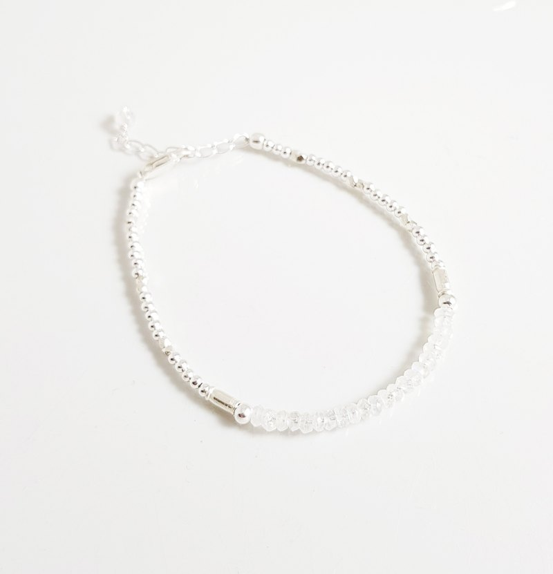 Eternal ~ Moonstone Sterling Silver Bracelet