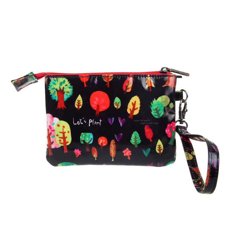 WP40501 Colorful-forest 3pockets multi-purpose pouch