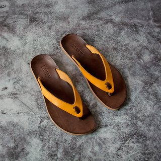 LANNY LANEY / Yellow Flip Flops Slippers_Female