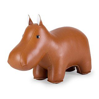Zuny - Hippo Styling Animal Bookend