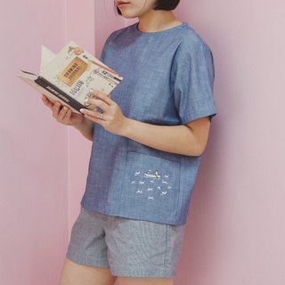 Molly (Romantic Lover) Top : Blue