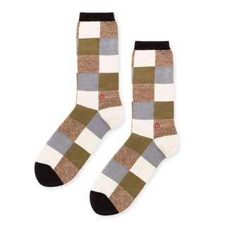 /delicate gentleman plaid tube socks comfortable cotton socks