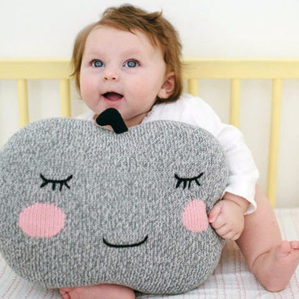 American Blabla Kids | Pillow - Apple Face B21110820