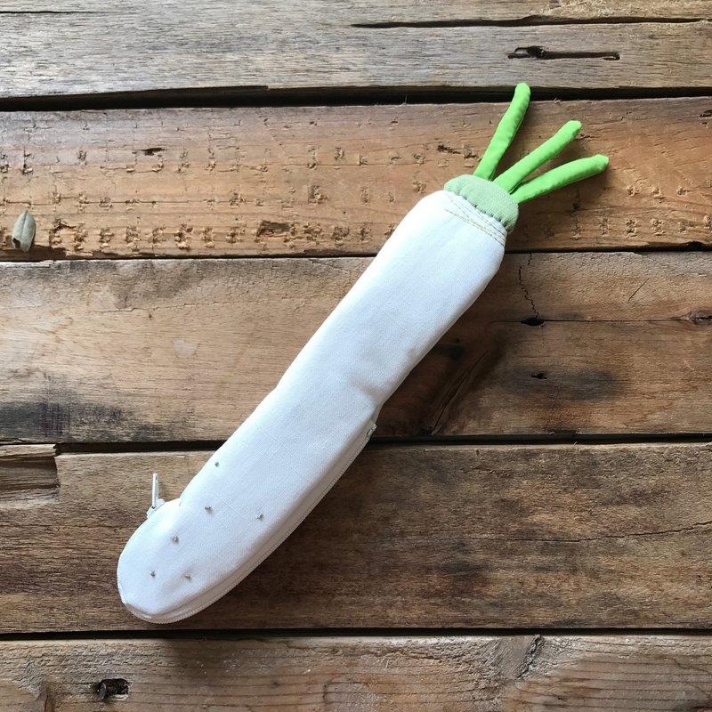 White radish cutlery bag