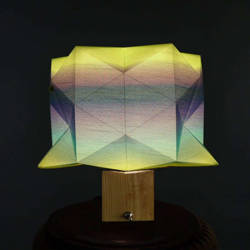 deLight Table Lamp 9 / Handmade /  Origami  / Award Winning Product