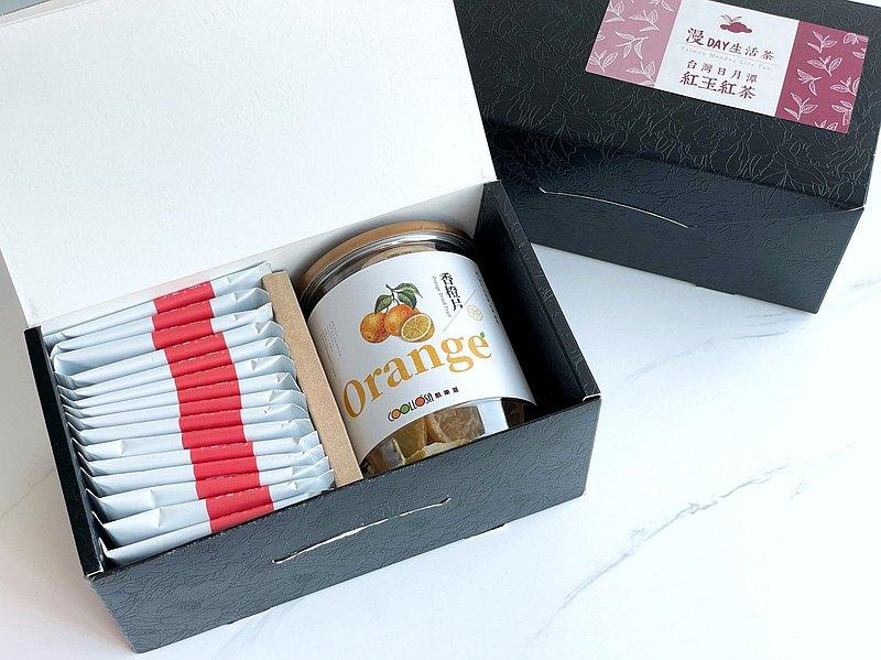 漫Day生活茶 紅玉紅茶袋茶包+香蒜/香橙/芭樂乾