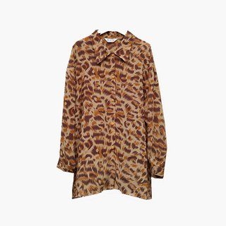 Dislocation vintage / Leopard shirt no.009 vintage