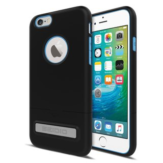 City Fashion Two-tone Cover / Case for iPhone 6 (s) Plus - Yupi Black (Black Blue) -SURFACE Collection