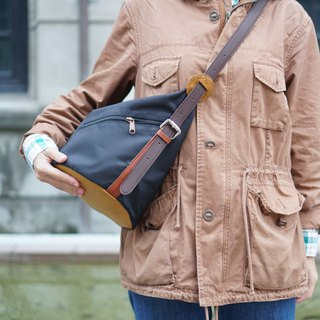 Bucket bag 3 way bag brown colour
