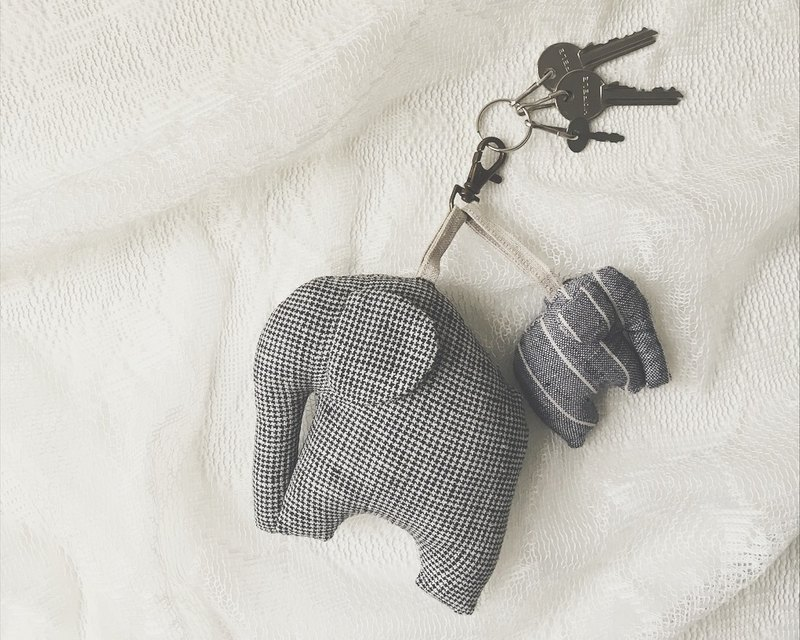 Elephant Keycharm Elephant Keychain Gift Animal Lover