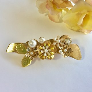 Flower perl hairclip (Flower Pearl hair clips)