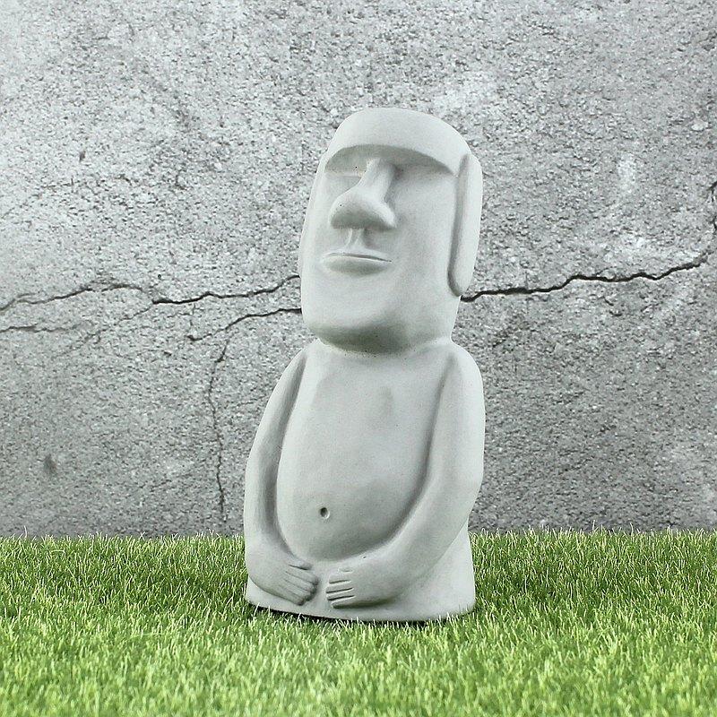 水泥摩艾 Moai-全身摩艾 巨石像