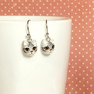 American shorthair Cat Earrings, Dangle & Drop Earrings, cat lover gifts