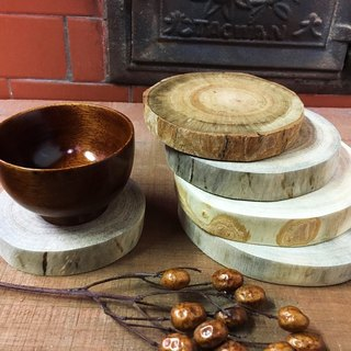 Wood for camphor coasters - natural simple models