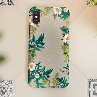 Mixed of plants iphone case สำหรับ iphone7 iphone8, iphone8 plus ,iphonex