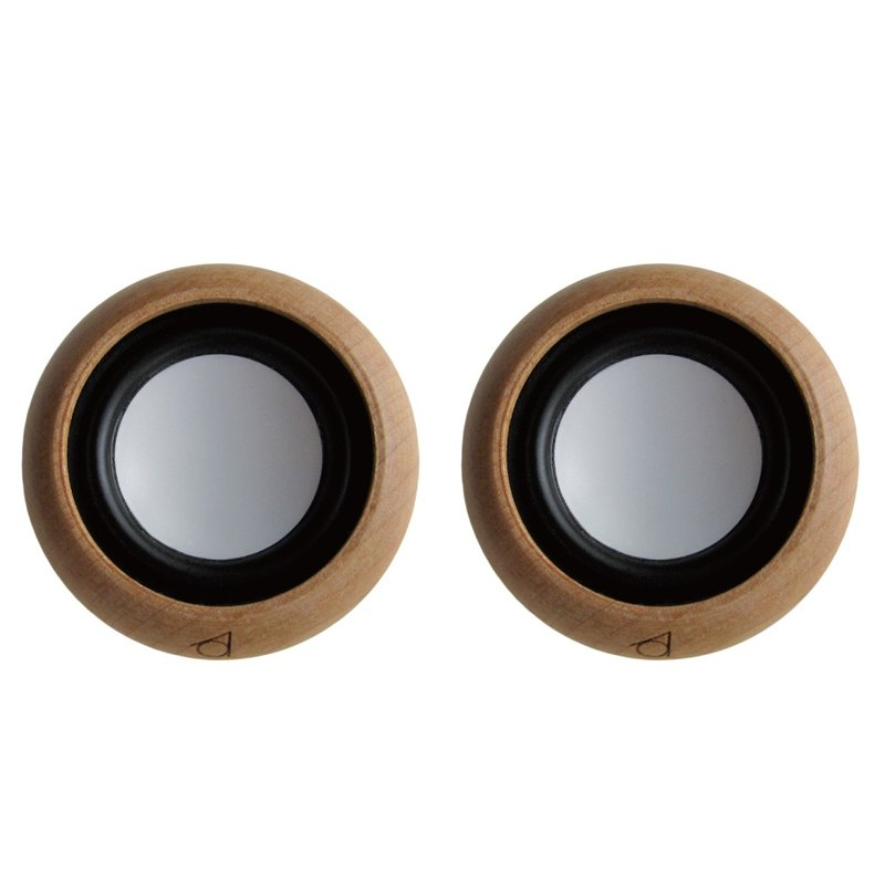 Stereo dual speaker set - two rounds so big one