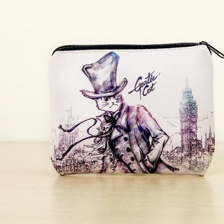 Good meow universal bag / wallet / storage bag - fog London