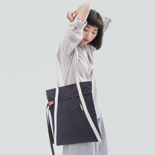 rin ACE TOTE 2.0 - Late night blue apron hair think A word Tote bag handbag