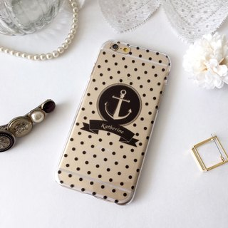 Customer Order Black Dots Sailor 05 Print Soft / Hard Case for iPhone X,  iPhone 8,  iPhone 8 Plus, iPhone 7 case, iPhone 7 Plus case, iPhone 6/6S, iPhone 6/6S Plus, Samsung Galaxy Note 7 case, Note 5 case, S7 Edge case, S7 case