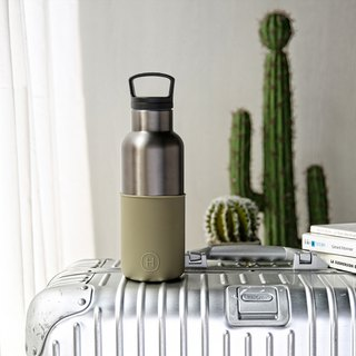 TITANIUM GREY-ARMY GREEN 16 OZ