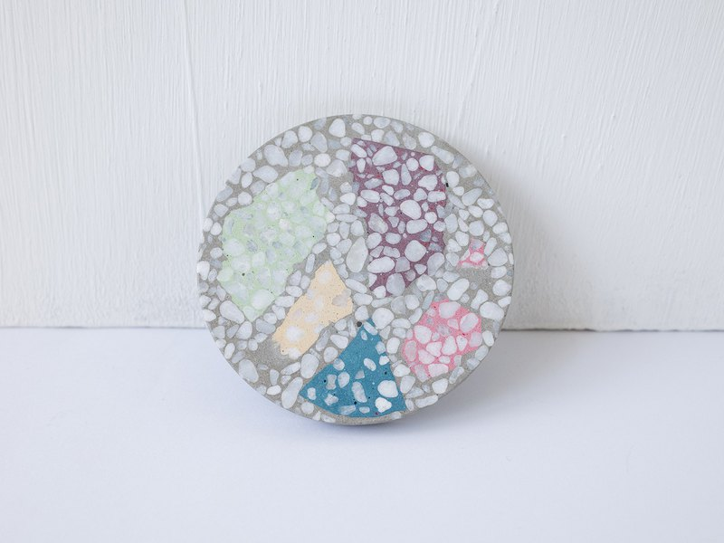 No Sight Room│The only two-color color mosaic terrazzo cement coaster