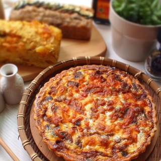 泰式咖哩雞肉派 Thai Massaman Curry Quiche