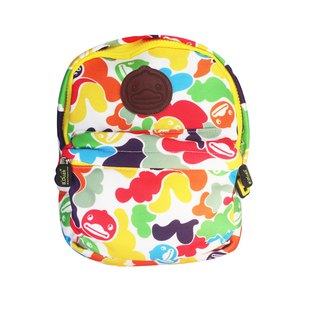 B.Duck colorful camouflage children's backpack
