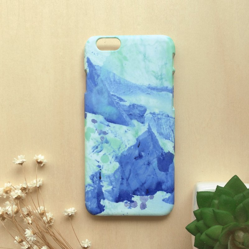 Greenery with iceberg. Matte Case( iPhone, HTC, Samsung, Sony, LG, OPPO)