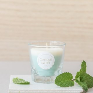 Dessert Candle - Mint Milkshake 45ml Mint Milkshake - Handmade Natural Essential Oil Soy Candle