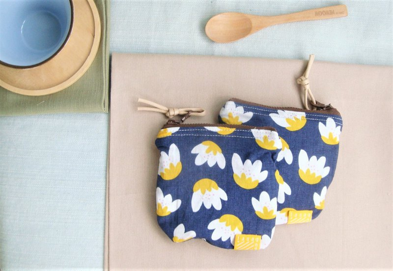 Navy Blue I Limited Tulip Series l Small Bag Coin Purse Pinkoi Navy