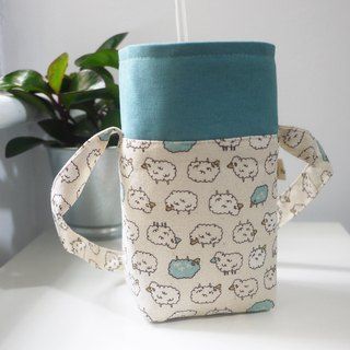 Double Sided Drink Bag One Large Mug One Side Cup Muglish 750 Burning Pot Available Little Sheep Lake Green