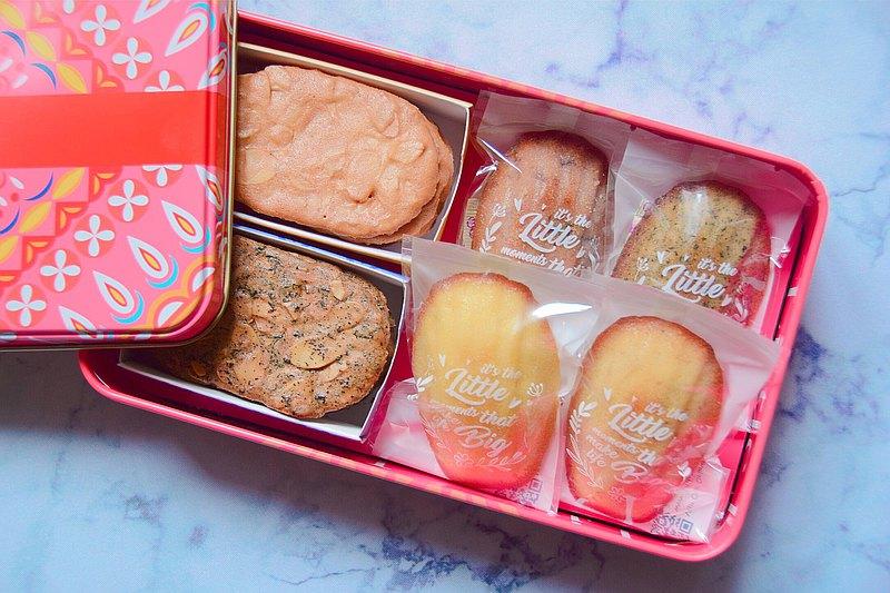 特製版禮盒 - (金沙蛋黃+紅茶杏仁瓦片/瑪德蓮)