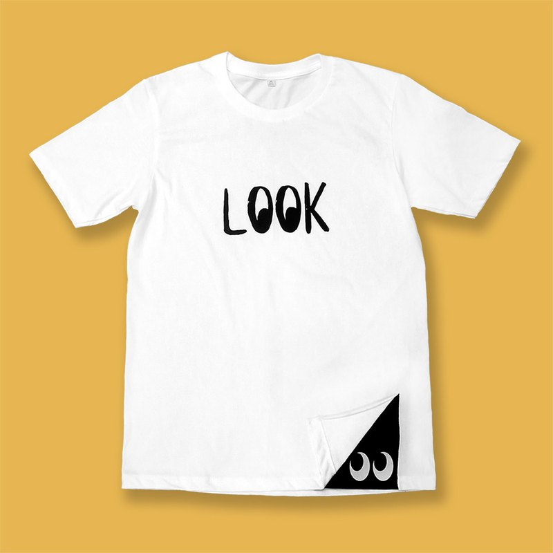 LOOK T-shirt - white