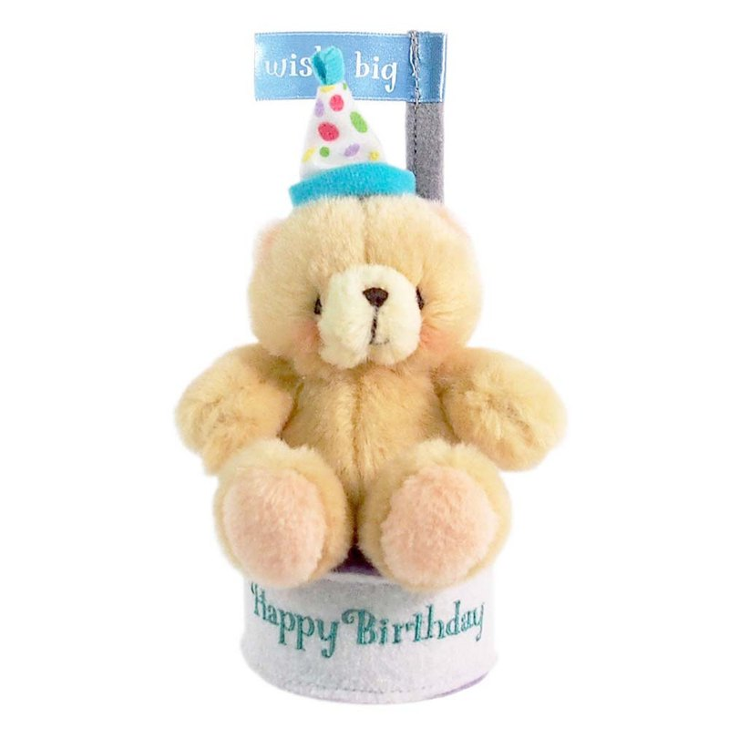 Happy Birthday Plush Ornaments[Hallmark-ForeverFriends Plush - Decoration Series]