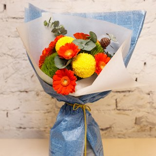 # # Flowers for her lively bouquet #