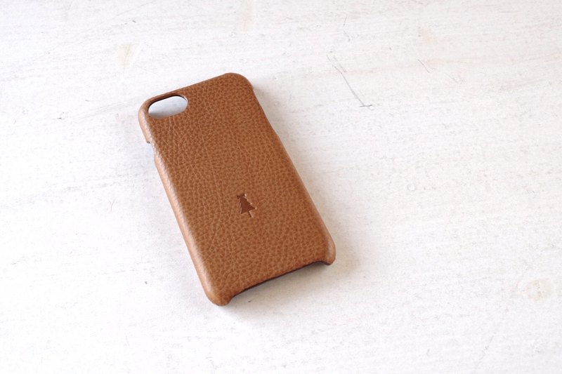 【受注生産】iPhone case slim-type camel